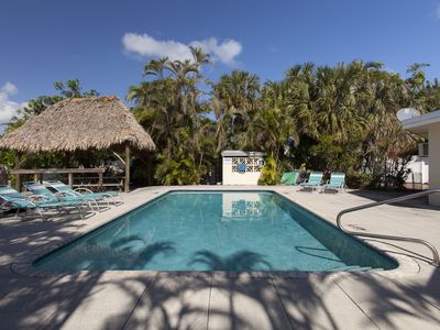 Photo for Waterfront Intracoastal Family-Home, heated pool, 2 blocks from the Beach