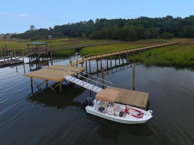 Photo for Waterfront Home with Dock on Jeremy Creek