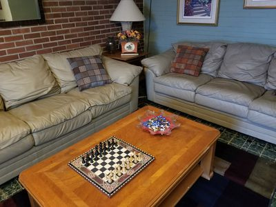 Photo for Old world meets new in this cozy basement apartment