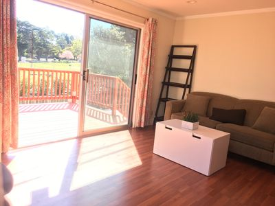 Photo for Two Bedrooms wth One Bathroom, a nice view deck, a private backyard