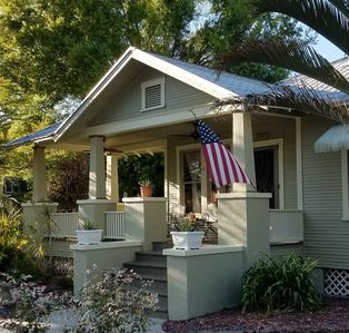 Photo for Craftsman Bungalow Pool Home near Downtown Fort Myers River District