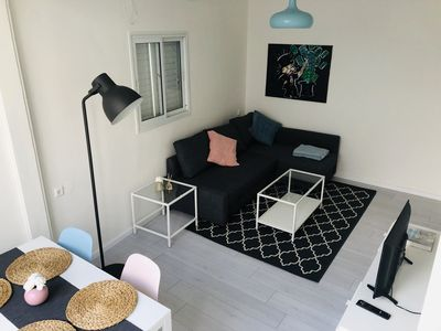Photo for Beautiful Central TLV apt 2 min from the beach