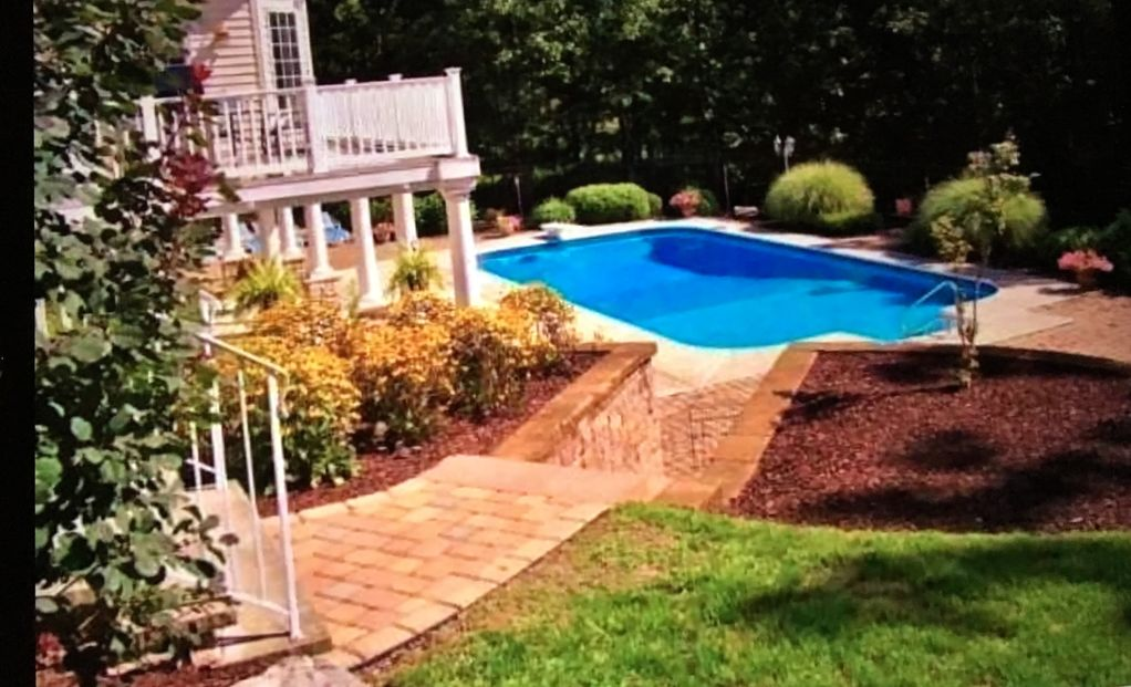 French provincial mansion on private 10 acr vrbo for Pocono rental with private swimming pool