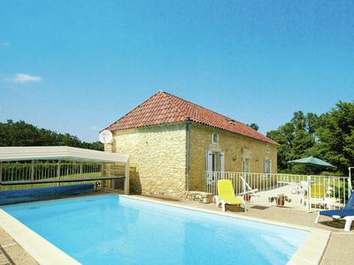 Photo for Cozy Holiday Home in Florimont-Gaumier with Private Pool