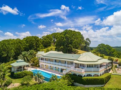 Photo for LUXICO - Cedargrove Estate, 11acres of lush green hills with pool