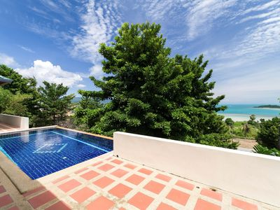 Photo for 4 Bed Seaview Villa - 3 mins to beach
