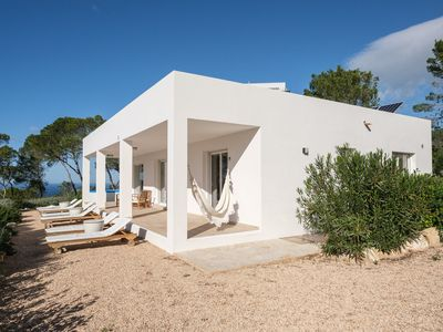 Photo for Beautiful villa immersed in the nature of ibiza for 6 people