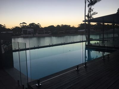 Photo for SPECIAL 3rd-13th Dec!!!  $400 p/n.  On the canal @ Palmy  6 Large br 17mt  pool