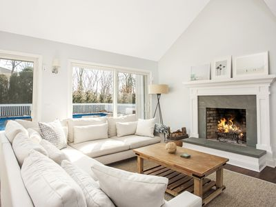 Photo for Newly renovated, modern light filled Southampton getaway with heated pool!