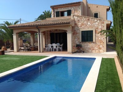 Photo for Marvelous Villa in Cala Llombards (Free Wi-Fi)