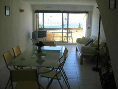 Photo for Nice bright duplex with nice view of the sea