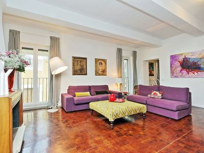 Photo for CHARM - comfortable apartment (3 beds & 3 baths) in the heart of Rome / Navona