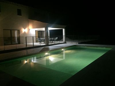 Photo for beautiful new villa of 300 square meters with heated pool