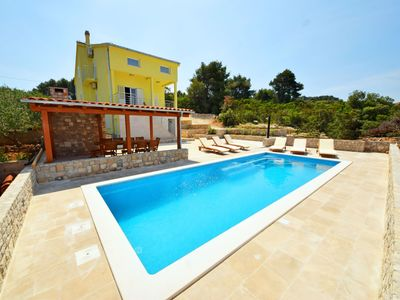 Photo for This 6-bedroom villa for up to 12 guests is located in Brac Island and has a private swimming pool,