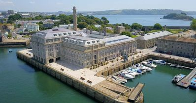 Photo for 6 Mills Bakery one bed sea view stylish apartment in Grade 1* historic Royal William Yard