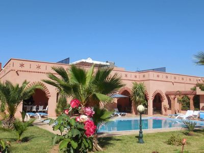 Photo for Villa Marrakech for 10 people with large pool, stove and internet.