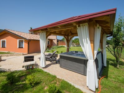 Photo for Attractive Holiday Home with Pool, Jacuzzi, Patio, Courtyard