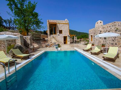Photo for Secluded Luxury Villa with 4suites, Pool, BigGarden (Historic National Monument)