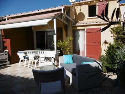 Photo for House Gruissan, Residence with swimming pool, near the beach.