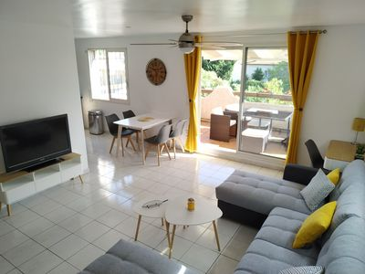 Photo for SETE - T3 apartment for rent up to 6 people with large terrace