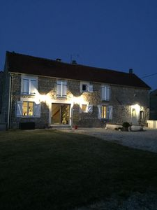 Photo for At the heart of the Chablis vineyard, 4 **** gîte, La maison de Lucien