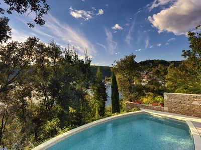 Photo for Fantastic Finca directly at Adriatic Sea with private pool
