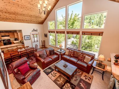 Photo for SAVE 25% Luxury Cabin Nr Suncadia! Hot Tub-Fire Pit-Game Rm-Pool Access