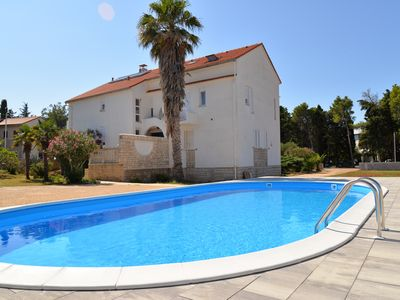 Photo for Villa Christina - room for 4 people with pool, WiFi&aircon