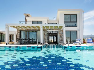 Photo for Ultra Luxury Villa with all amenities  + Private Bay + Free Airport Transfer