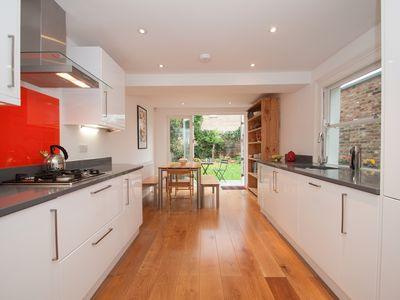 Photo for Classic Tufnell Park home, with fabulous terrace and garden (Veeve)