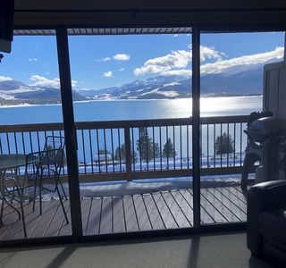 Photo for Incredible Lake Front View on Lake Dillon! Free Wi-Fi!