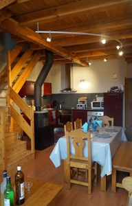 Photo for Apartment classified 3 * Serre Chevalier 1400. 6 people. Foot of the tracks. WIFI
