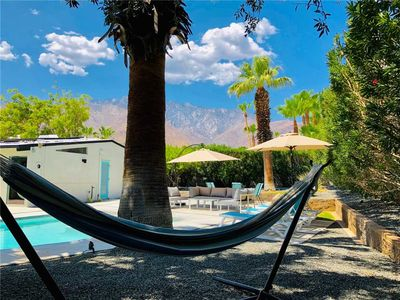 Photo for Stunning Alexander Mid-Century Modern Home with Mountain Views, Saltwater Pool & Spa