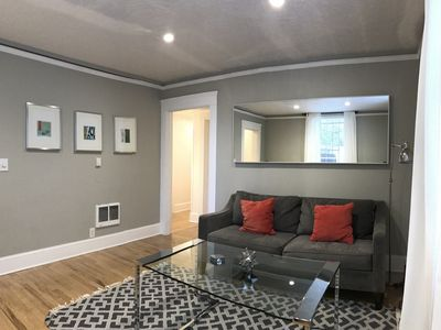 Photo for Cozy and Quiet Goose Hollow Apartment.