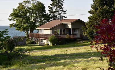 Photo for Beach House on S. Whidbey, Just Seconds to the Beach, Nature, Quiet, View.