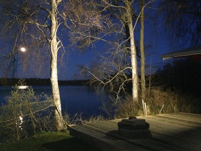 Photo for House directly by the lake-private dock, boat, Smaland, elk, Pippi Longstocking