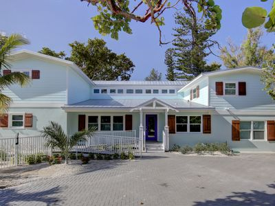 Photo for North End of AMI, Heated/Chilled Pool, Ocean Views, Tropical Oasis with an elev