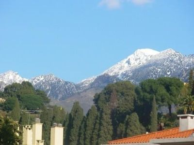 Photo for Apartment in Menton, 2 balconies, nice view, 300m from the sea