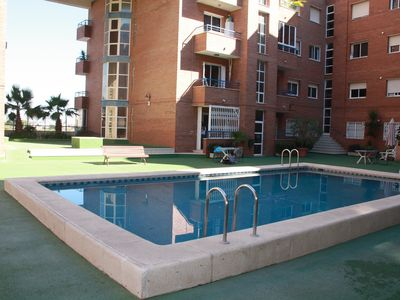 Photo for Apartment with community pool
