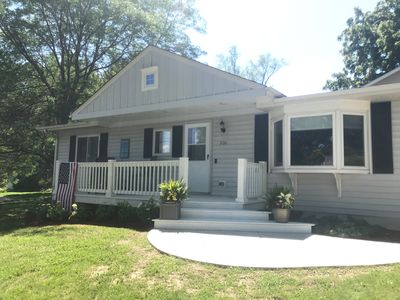 Photo for Charming home, Finished basement and fantastic outdoor patio! Great for families