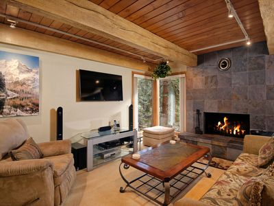 Photo for Deluxe condo with 2 bedrooms, river views, and a great location near downtown Aspen. CE17
