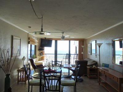 Photo for Gorgeous condo on unspoiled, peaceful New Smyrna Beach, Florida.