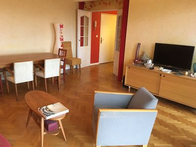 Photo for Les Lilas - Paris, spacious and sunny apartment, parking, near metro