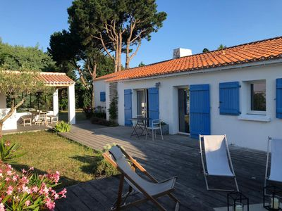 Photo for Noirmoutier - The Old - Character house with terrace and large garden