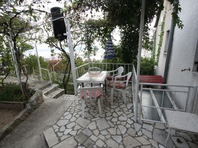 """Photo for Holiday Apartment  """"Bok"""" with Balcony, Terrace & Sea Views; Pets Allowed"""