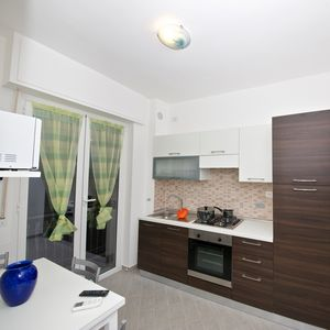 Photo for Le Fornaci 2 Riviera-Holiday - 100 meters from the sea, free WIFI, air cond, 2 city bikes