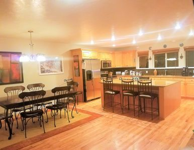 Photo for Ski Retreat, Huge Kitchen, Hot Tub, Premium Cable, Boot Dryer, Outdoor Grill
