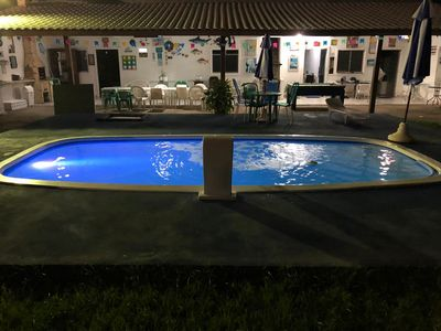 Photo for Large house rm Itacimirim pool, barbecue, air-conditioning, Wi-Fi, pool.