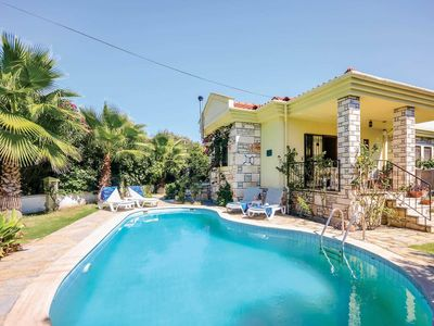 Photo for 2 bedroom Villa, sleeps 4 in Okçular with Pool, Air Con and WiFi