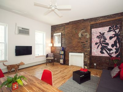 Photo for Color & Style: Artist Loft sleeps 4/Priv Bdrm/1 min to subway/8 min to Time Squ